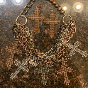 Gypsy Soul earring and necklace set